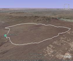 Pemberton Trail in Google Earth